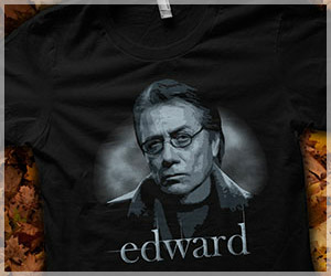 Team Edward James Olmos Shirt, Twilight Parody T-Shirt