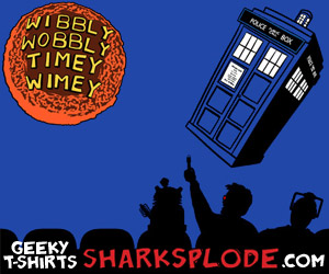 MST3K Doctor Who Shirt, Wibbly Wobbly TImey Wimey t-shirt