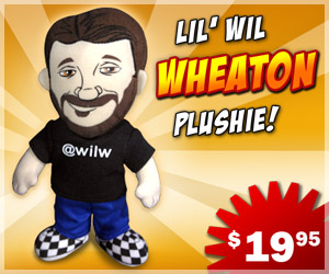 Wil Wheaton Plushie, Lil Wil Wheaton Plush Toy, Doll
