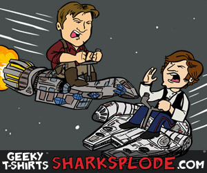 Firefly Star Wars mashup shirt, Mal and Han Solo, Serenity shirt