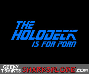 The Holodeck Is For Porn shirt - funny star trek TNG parody shirt