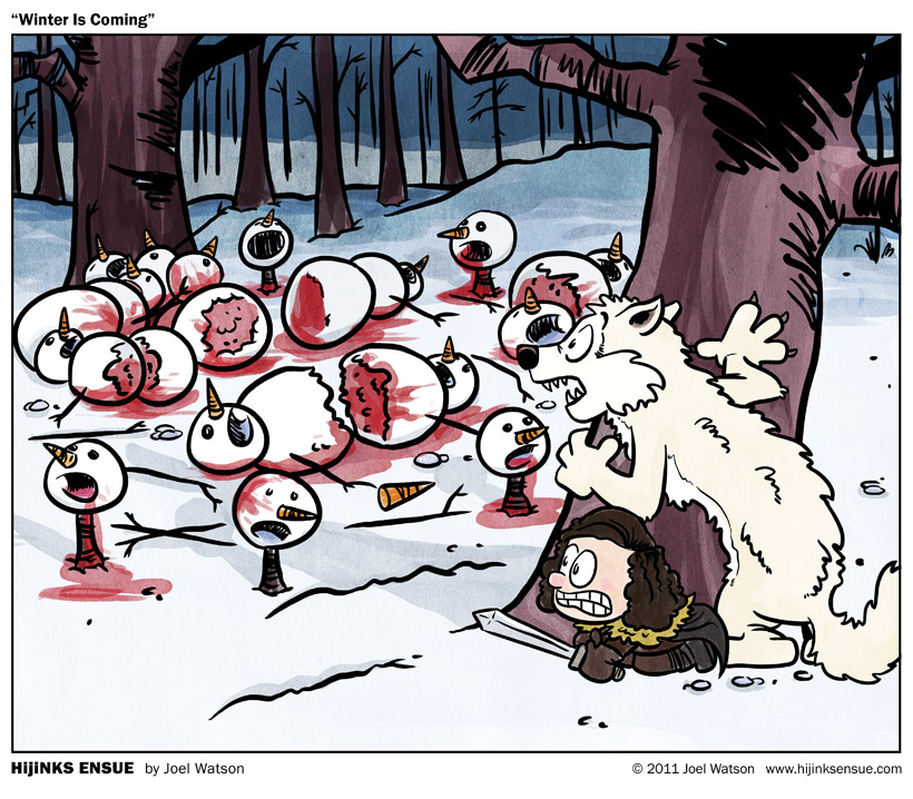 winter is Coming Calvin