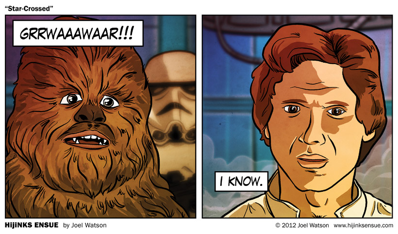 Let the Wookiee win... your heart.