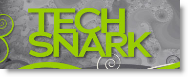 Tech Snark Podcast Logo