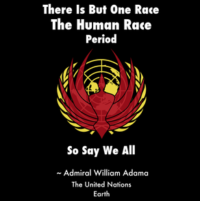 "Battlestar Galactica/UN ""So Say We All"" T-Shirt"