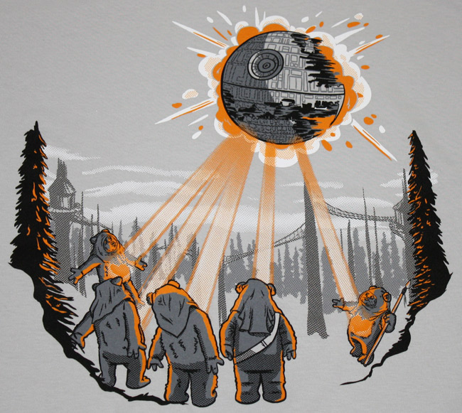 Ewok Stare T-Shirt Close Up