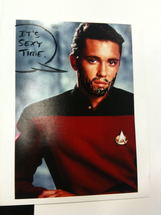 Ensign Crusher, set a course for hotness.