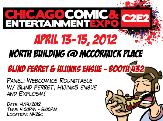 HijiNKS ENSUE at C2E2 2012