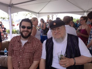 Joel Watson of HijiNKS ENSUE and George R.R. Martin