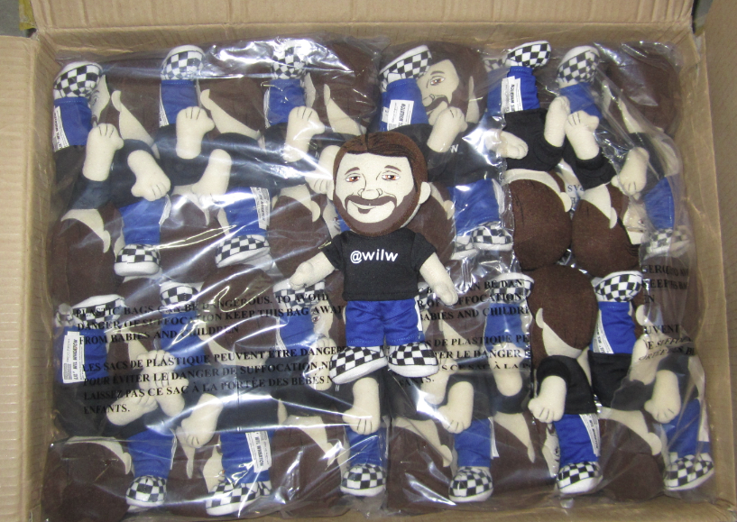Wil Wheaton Plushie Box - HijiNKS ENSUE