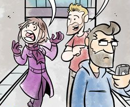 Wasted Talent Guest Comic by Joel Watson of HijinKS ENSUE