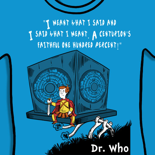 Doctor Who Dr. Seuss T-Shirt, Rory Centurion, Shirt Pandorica, Horton Hears a Who, Horton Hatches The Egg, Rory Hears A Who And Hatches The Cube, Rory Pond, Rory Williams,