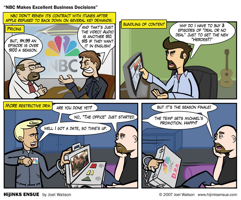NBC Makes Excellent Business Decisions