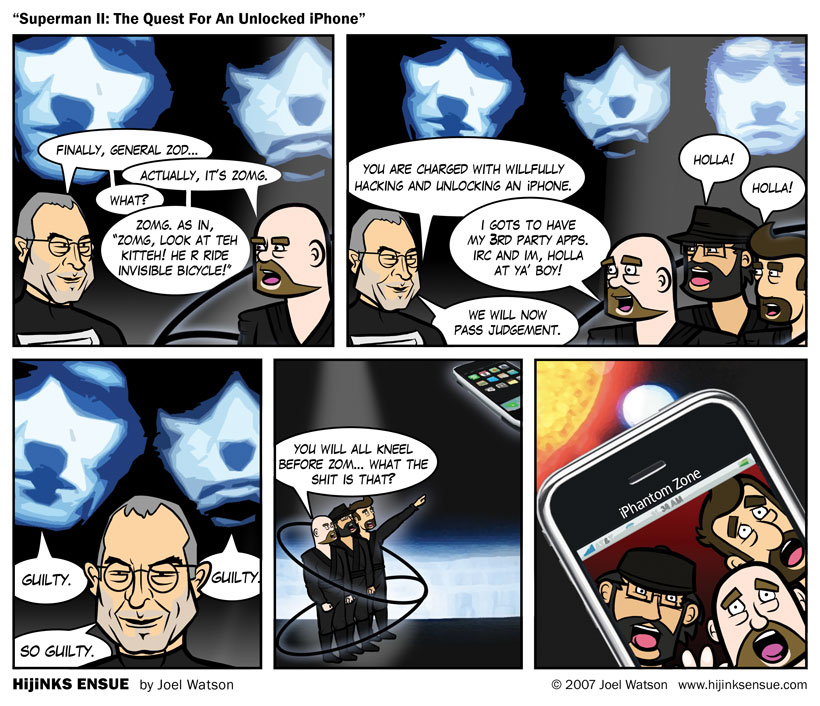 Superman II: The Quest For an Unlocked iPhone
