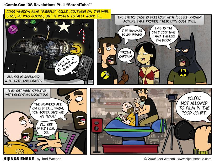 "Comic-Con '08 Revelations Pt. 1 ""SereniTube"""