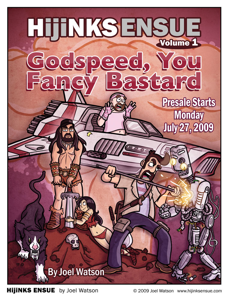 HijiNKS Ensue Volume 1: Godspeed You Fancy Bastard