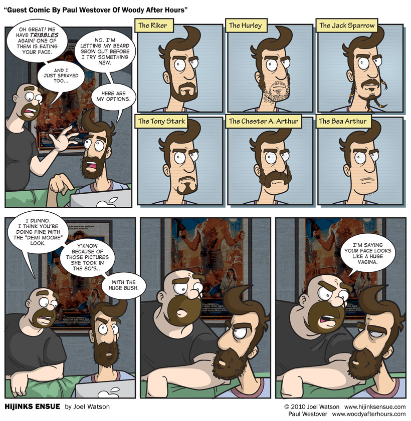 Guest Comic By Paul Westover Of WoodyAfterHours.com