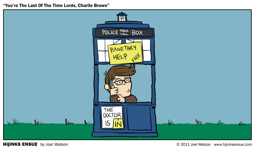 You're The Last Of The Time Lords, Charlie Brown