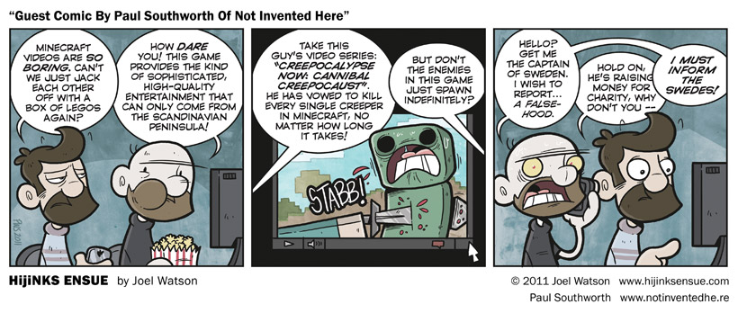 Guest Comic By Paul Southworth Of Not Invented Here