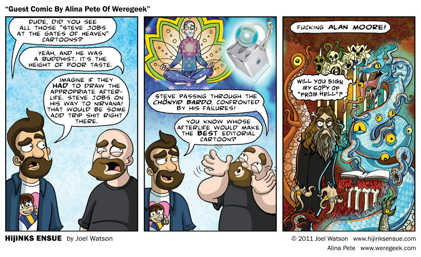 Guest Comic By Alina Pete of Weregeek