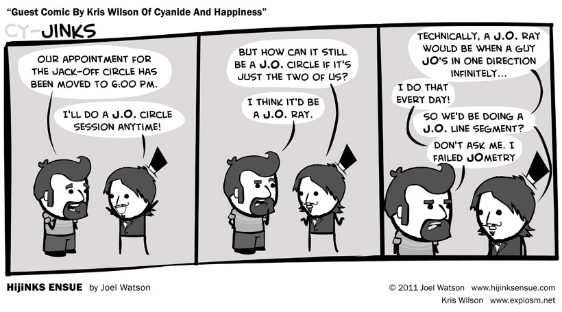 Guest Comic By Kris Wilson Of Cyanide And Happiness