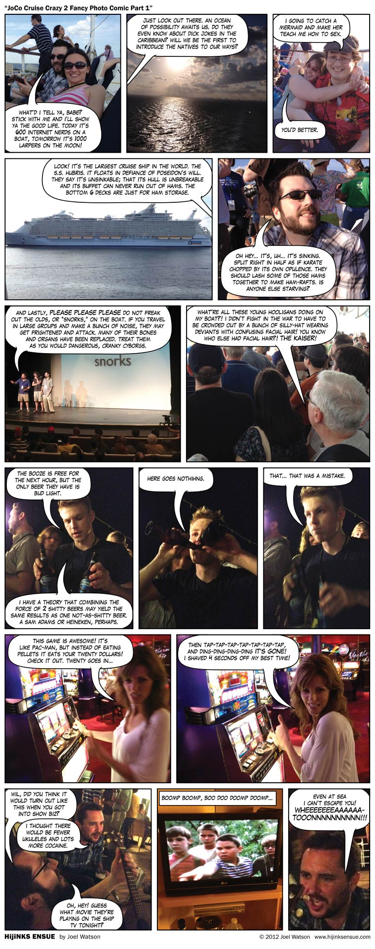 JoCo Cruise Crazy 2 Fancy Photo Comic Part 1