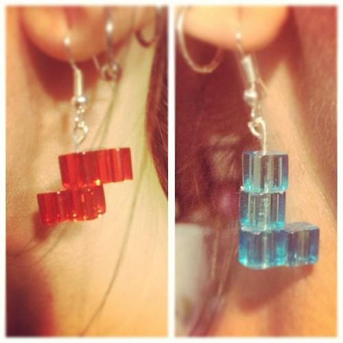 Tetris Earings!