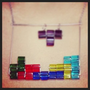 tetris-necklace