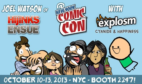 hijinks ensue nycc 2013 blog image