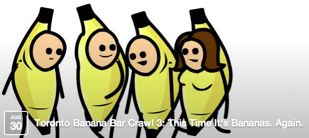 Toronto Banana Bar Crawl 3
