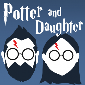 potter and daughter podcast logo hijink ensue