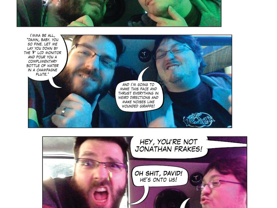 Emerald City Comicon 2015 Fancy Photo Comic Part 1