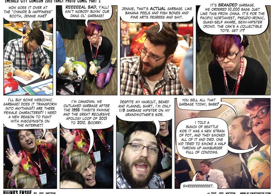 Emerald City Comicon 2015 Fancy Photo Comic Part 2