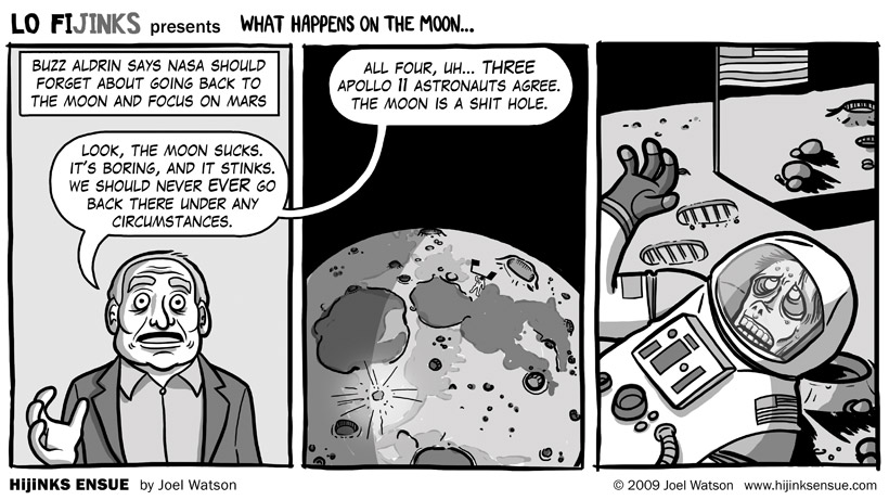 What Happens On The Moon…