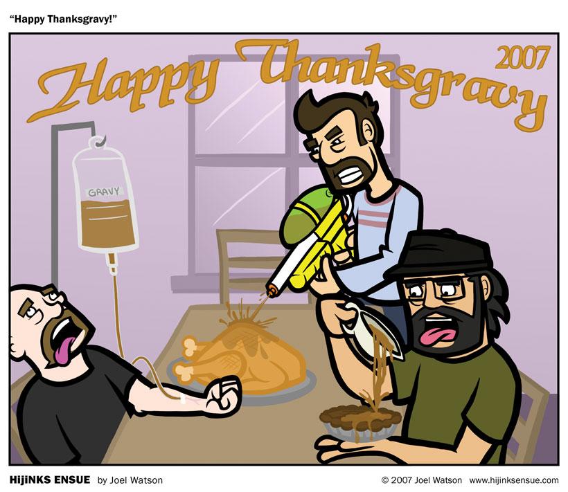 Happy Thanksgravy!