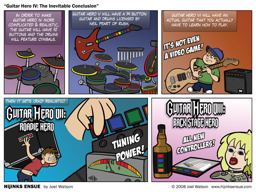 Guitar Hero IV: The Inevitable Conclusion
