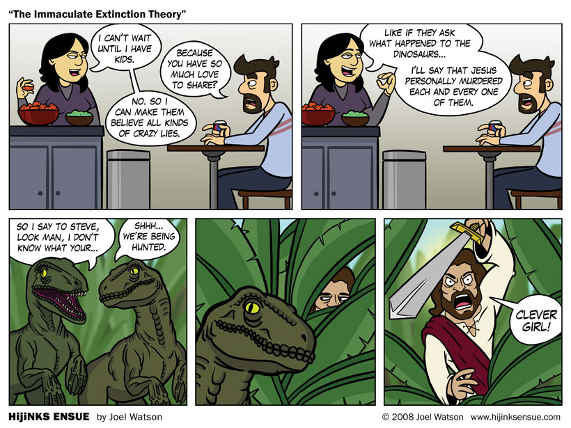 The Immaculate Extinction Theory