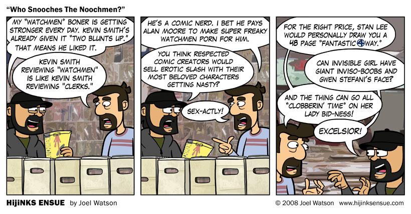 Who Snooches The Noochmen?