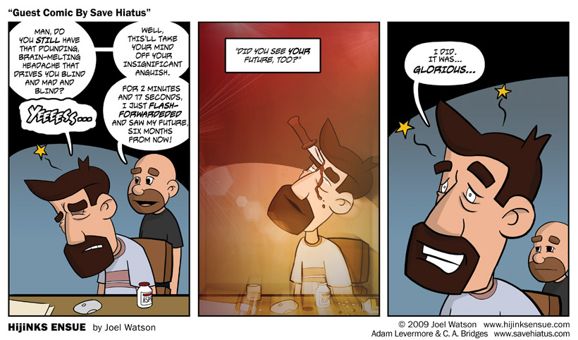 Guest Comic By Save Hiatus